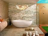 Какой камень выбрать для отделки ванной?
