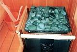 Выбор камня для бани